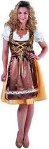 Luxe dirndl met blouse en schort | Oktoberfestkleding dames maat 50/52