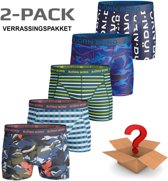 Björn Borg - Heren Onderbroeken 2-Pack Boxers - Multi - Maat M