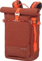 Samsonite Rugzak Met Laptopvak - Ziproll Laptop Backpack M Burnt Orange