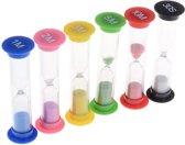 RX Goods® Premium Zandlopers 30 Seconden, 1,2,3,5 &10 Minuten – Spellen, Tandenpoets & Douche Timer