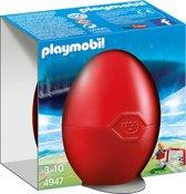 Playmobil Paasei Voetballer met goal - 4947