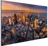 FotoCadeau.nl - Luchtfoto San Francisco Aluminium 90x60 cm - Foto print op Aluminium (metaal wanddecoratie)