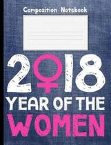 2018 Year of Women Composition Notebook