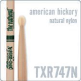 TXR747N Rock Sticks Natural American Hickory, Nylon Tip