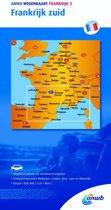 ANWB wegenkaart - ANWB wegenkaart Frankrijk 3. Frankrijk zuid