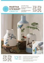 Hobbyverf - Martha Stewart outline paintable cling woodland birds - 3 stuk