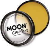 Moon Creations Schmink Pro Face Paint Cake Pots 36 Gram Mosterd