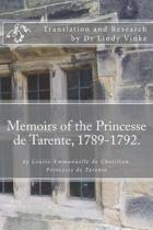 Memoirs of the Princesse de Tarente, 1789-1792