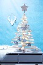 Kerstboom Hout Wegneembaar 71Cm