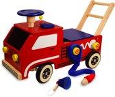 I'm Toy Loopwagen duwkar Brandweer