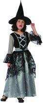 Grijze heks kostuum voor meisjes - Verkleedkleding - 152/158