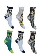 6 paar sokken Ben10 maat 27-30