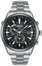 Seiko Astron SAST003G - Horloge - 47 mm - Zilverkleurig - Solar uurwerk