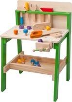 Woody Luxe Houten Speelgoed Werkbank voor Kinderen