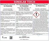 Sonixlab TEK34 universele ultrasoon vloeistof (carburator) - 5 liter
