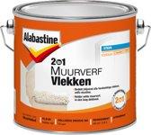 Alabastine 2In1 Synthetische Nicotineverf -Wit- 2.5L
