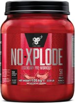 BSN N.O.-Xplode 3.0 - Pre-workout - 1000 gram - Fruit Punch