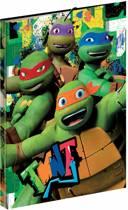 Teenage Mutant Ninja Turtles - Luxe elastomap - 35 cm - Groen