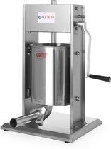Hendi RVS worstenvul machine |10 Liter