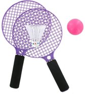 Racket set met balletje en shuttle