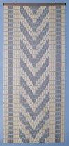 DEGOR Vliegengordijn hulzen bruin/beige 100x220