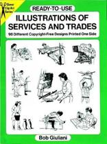 Ready-to-Use Illustrations of Services and Trades