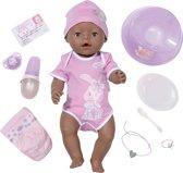 BABY born - Interactieve Pop met Donkere Huid - Baby pop