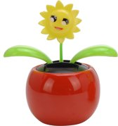 Tender Toys Solarbloem Zon Rood 10 Cm