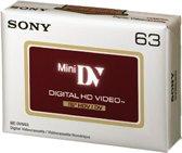 Sony DVM63 HDV Mini DV-casette