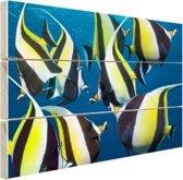 Moorse afgod Indische Oceaan Hout 30x20 cm - Foto print op Hout (Wanddecoratie)