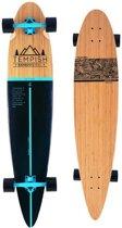 Tempish Longboard Flow 117 X 25 Cm Blank/zwart