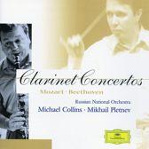 Mozart, Beethoven: Clarinet Concertos / Collins, Pletnev et al