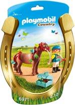 "Playmobil Pony om te versieren ""Vlinder"" - 6971"