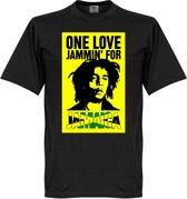 Bob Marley ''One Love Jammin For Jamaica'' T-Shirt
