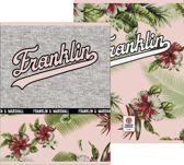 Schrift Franklin and Marshall Girls A5 gelijnd: 3-pack