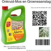 Onkruid mos en groeneaanslag bestrijding