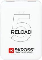 Skross RELOAD 5 powerbank Wit Lithium-Ion (Li-Ion) 5000 mAh