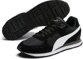 PUMA Vista Sneakers Unisex - Puma Black / Puma White / Charcoal Gray - Maat 43