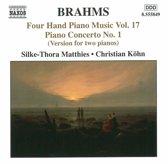 Brahms: Four-Hand Piano Music,
