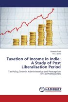 Taxation of Income in India