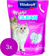 Vitakraft Magic Clean Kattenbakvulling - 3 x 5 l