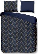 Good Morning Bohe - Dekbedovertrek - Lits-jumeaux - 240x200/220 cm + 2 kussenslopen 60x70 cm - Blauw