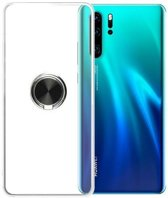 Teleplus Huawei P30 Pro Ring Silicone Case Black hoesje