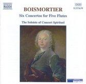 Boismortier: Six Concertos for Five Flutes / Le Concert Spirituel Soloists