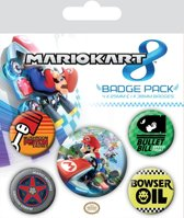 Mario Kart 8 Drift Badge Pack