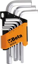 Beta Tools Inbussleutel set 96/SC9 staal 000960354 9 st