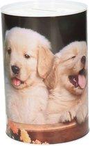 Puppy spaarpot 15 cm type 3