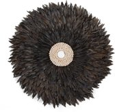 CHILDHOME - JUJU FEATHERS 50 cm ANTHRACITE