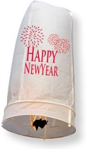 Wensballon XL Happy New Year 1 meter