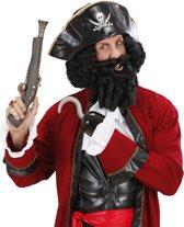 """""""Piratenpruik voor mannen - Verkleedpruik - One size"""""""